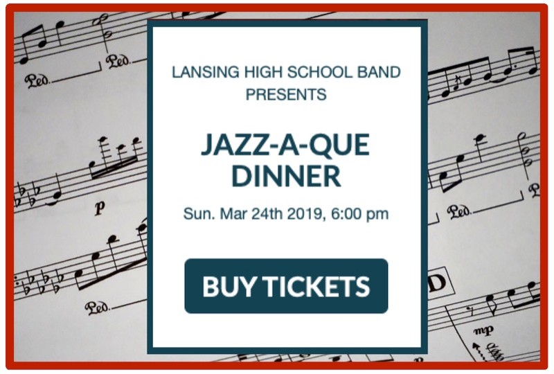 USD 469 - Don't miss Lansing High School Band's Jazz-A-Que